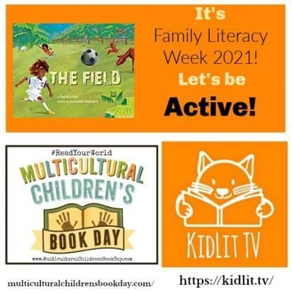 Books for Family Literacy Week 2021: Let's be Active!