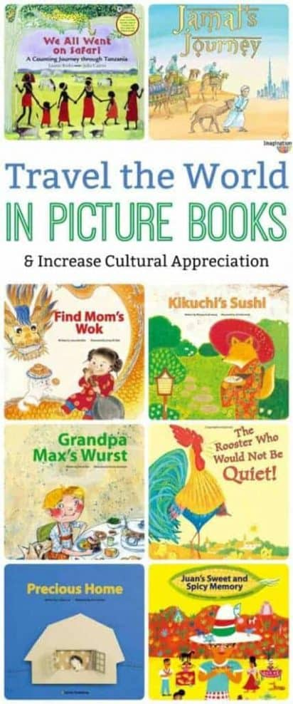 Diverse Picture Book Booklists From Countries Around the World