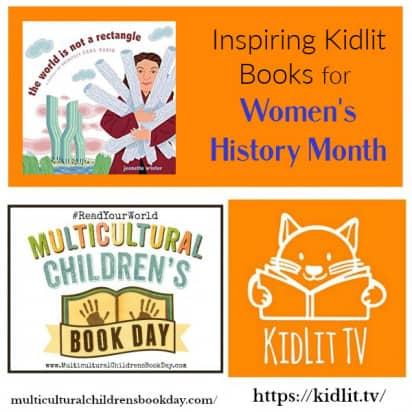 Inspiring Kidlit Books for Women's History Month