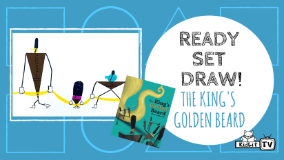 Ready Set Draw! The Guards from THE KING'S GOLDEN BEARD