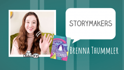 StoryMakers with Brenna Thummler   DELICATES
