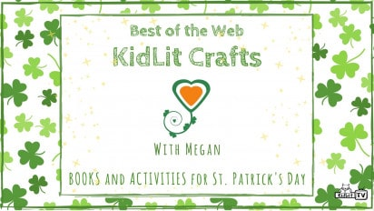 KidLit Arts and Crafts for St. Patrick's Day