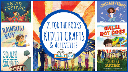 21 for the Books – Craft Chat on KidLit TV!