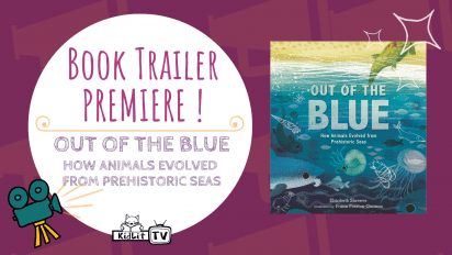 Book Trailer PREMIERE! OUT OF THE BLUE