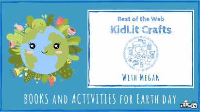 KidLit Crafts and Activities for EARTH DAY