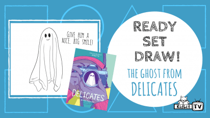 Ready Set Draw! Wendell the Ghost from DELICATES
