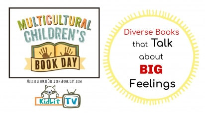 Diverse Books that Talk About BIG Feelings