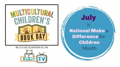 July is National Make a Difference for Children Month