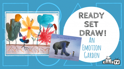 Read Set Draw! Paint an Emotion Garden with Cindy Derby