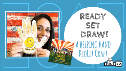 Ready Set Draw! A Helping Hand KidLit Craft