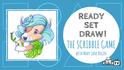 Ready Set Draw! THE SCRIBBLE GAME with Mary Jane Begin