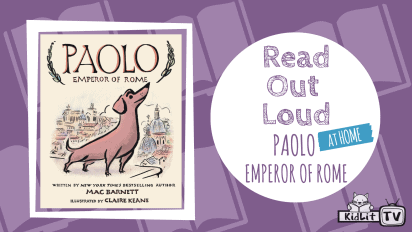 Read Out Loud with Mac Barnett PAOLO, EMPEROR OF ROME