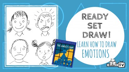 Ready Set Draw! Learn How to Draw Emotions THE LONGEST STORM