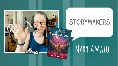 StoryMakers with Mary Amato  STAR STRIKER: GAME ON!