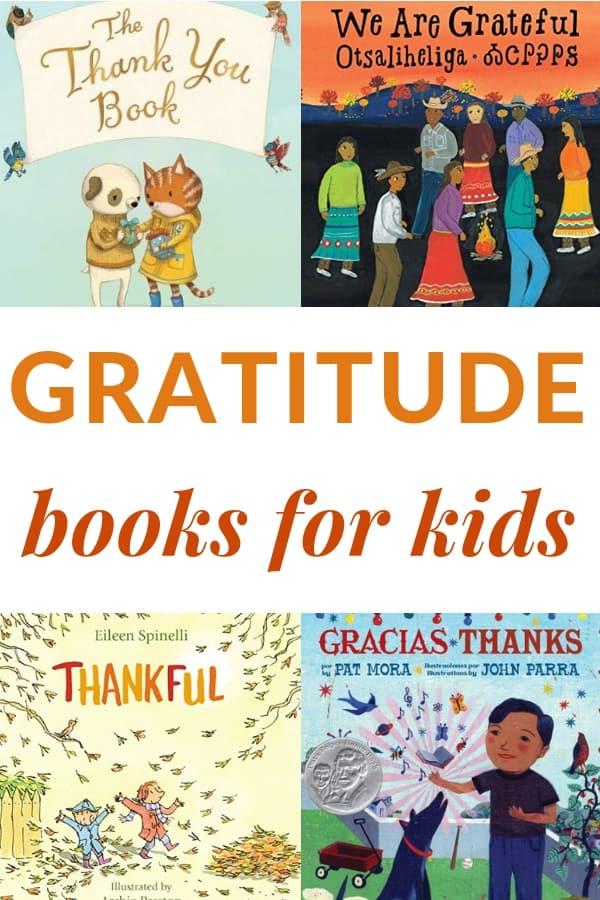 diverse books about Gratitude