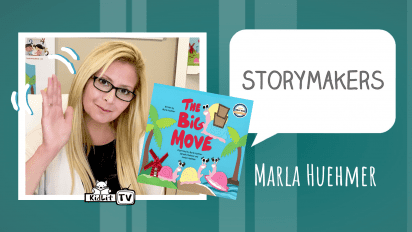 StoryMakers with Marla Huehmer THE BIG MOVE